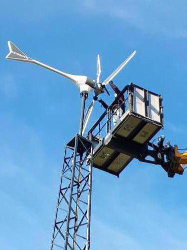Enair E70 PRO windturbine in Groesbeek