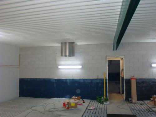 Luchtinlaat ventilatieplafond